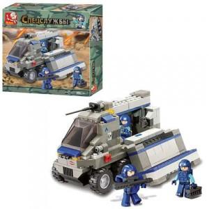 Конструктор SLUBAN Спецслужбы M38-B0201