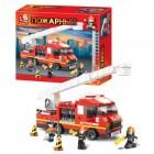 Конструктор SLUBAN Пожарные спасатели M38-B0221