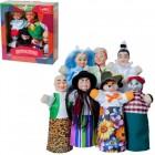 Кукольный театр БУРАТИНО 7 персонажей + книжка B182