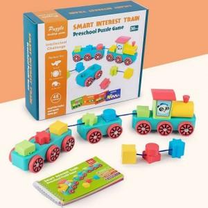 Деревянная игрушка Smart Interest Train 1902-65