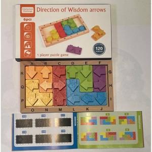 Деревянная игрушка Wisdom block