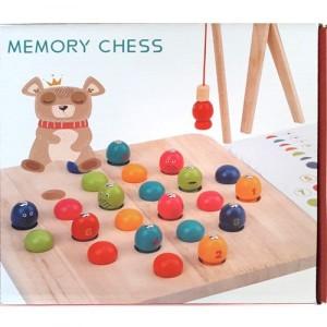 Деревянная игрушка Memory chess