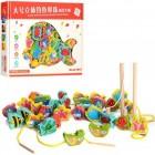 Деревянная игрушка Шнуровка MD 1008