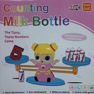 Настольная игра Counting milk bottle