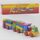 Деревянный конструктор Поезд С 39264