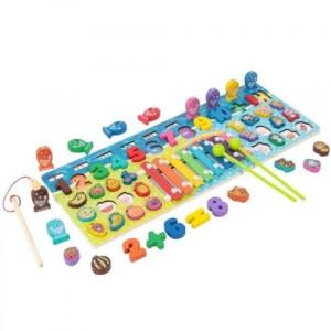 Деревянная игрушка Развивающий центр 2305-85