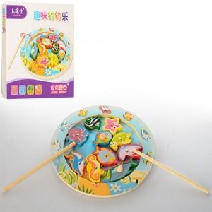 Деревянная игрушка Рыбалка MD 1043
