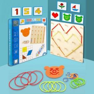 Деревянная игрушка Creative geometric game