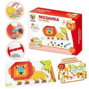 Мозаика На ферме 4в1 271 элемент 658