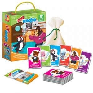 Игра карточная Зоокафе VT2308-09