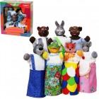 Кукольный театр РУКАВИЧКА 7 персонажей + книжка B153