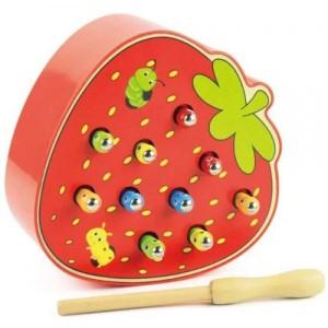 Деревянная игрушка Клубника