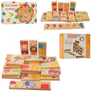 Деревянная игрушка Домино MD 2072