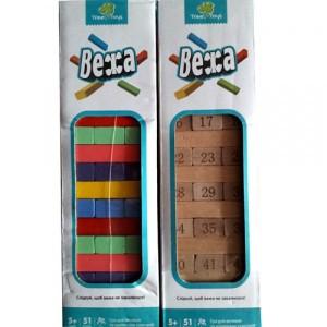 Деревянная игрушка Игра Дженга MD 1211