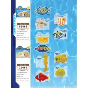 4D конструктор Рыбы 5366
