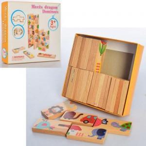 Деревянная игрушка Домино MD 2274