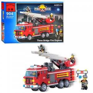 Конструктор BRICK Пожарная машина 904