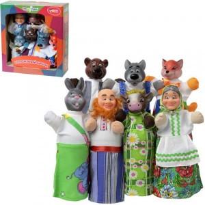 Кукольный театр СОЛОМЕННЫЙ БЫЧОК 7 персонажей + книжка B162