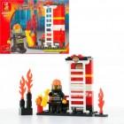 Конструктор SLUBAN Пожарные спасатели M38-B0216