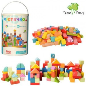 Деревянная игрушка Городок MD 2358
