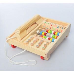 Деревянная игрушка Телефон MD 1202