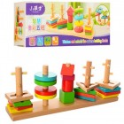 Деревянная игрушка Геометрика 35925