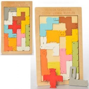 Деревянная игрушка Пазлы MD 2491
