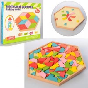 Деревянная игрушка Геометрика MD 2027