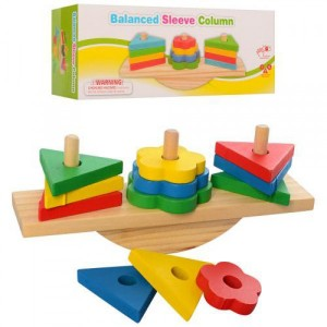 Деревянная игрушка Геометрика MD 2317