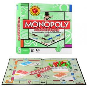 Монополия Классическая+скоростной кубик 6123