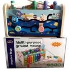 Деревянная игрушка Muliti-purpose ground mouse 1902-16