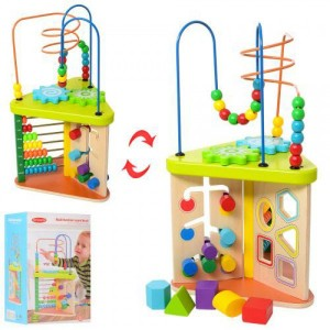 Деревянная игрушка Развивающий центр MD 1319