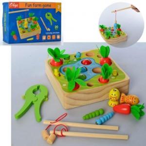 Деревянная игрушка Рыбалка MD 2710