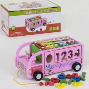 Деревянная игра Автобус С 39219