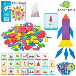 Деревянная игрушка Танграм MD 2239