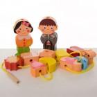Деревянная игрушка Шнуровка MD 1248