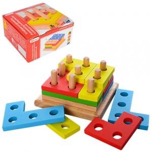 Деревянная игрушка Геометрика MD 1132