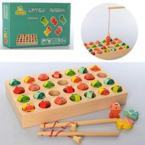 Деревянная игрушка Рыбалка MD 2479