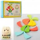 Деревянная игрушка Пазлы MD 1555