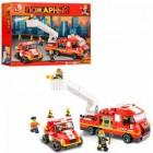 Конструктор SLUBAN Пожарные спасатели M38-B0223