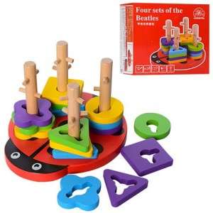 Деревянная игрушка геометрика MD1027