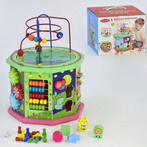 Деревянный Логический Куб М 02995