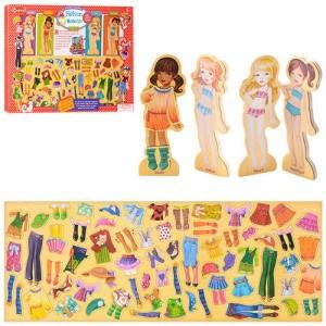 Деревянная игрушка Гардероб MD 1076
