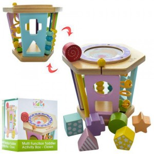 Деревянная игрушка Развивающий центр MD 1296