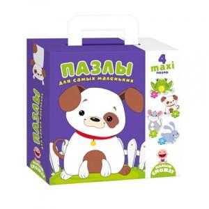 Пазлы Собачка для самых маленьких VT2901-06