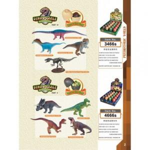 4D конструктор Динозавры 3466S