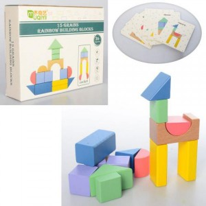 Деревянная игрушка Геометрика MD 2039