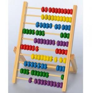 Деревянная игрушка Счеты MD 2734