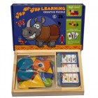 Деревянная игрушка Step By Step Learning Creative Puzzle 1902-69