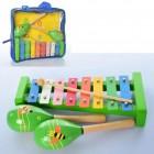 Деревянный Набор музыкальных инструментов MD 2127